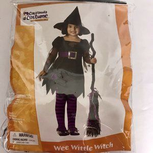 Wee Wittle Little Witch California Costume 4-6